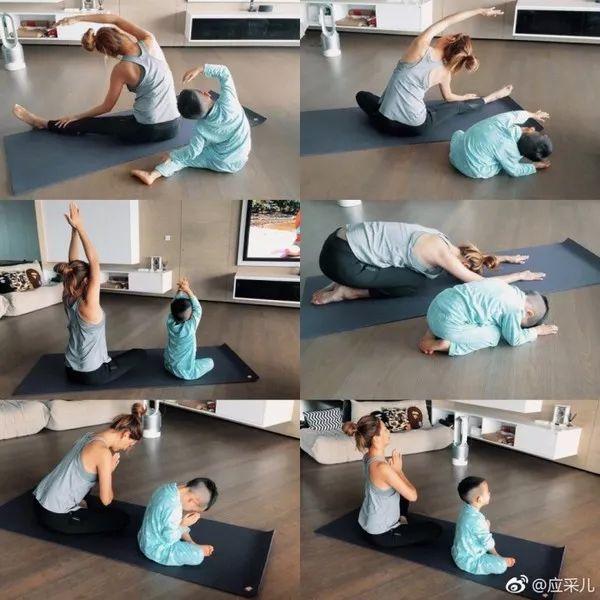 11堂亲子瑜伽课:瑜伽皇后唐幼馨携2宝亲身打造-第7张图片-爱课啦
