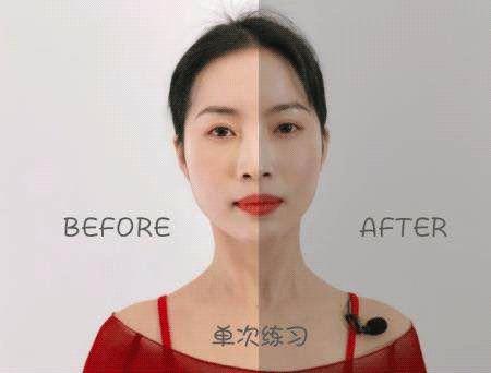 徒手瘦脸按摩:每天10分钟轻压揉按,打造立体小V脸,一按就有效-第17张图片-爱课啦