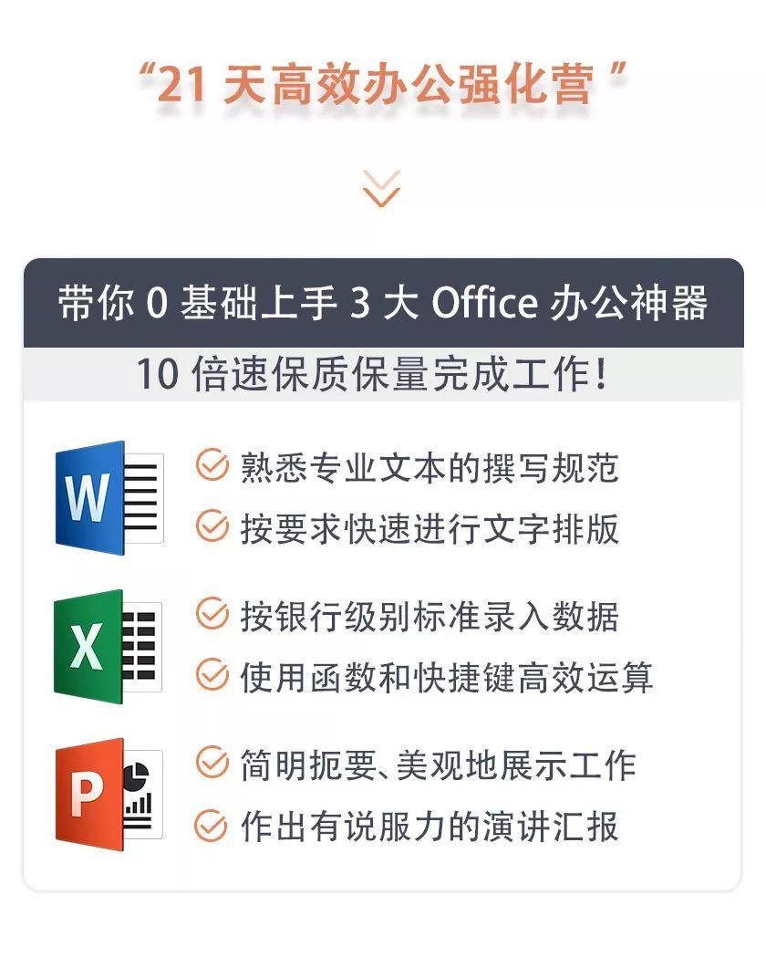 21天高效办公实战营:极速上手Word+Excel+PPT,让你的工作效率快进10倍!-第38张图片-爱课啦